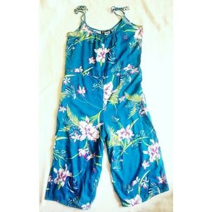 Vintage Hawaiian summer jumpsuit